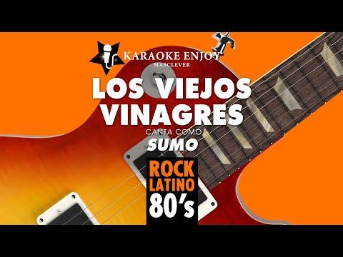 Los viejos vinagres - Sumo (Version Karaoke con letra pintada).mpg