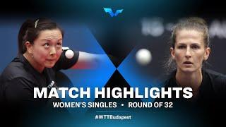 Wan Yuan vs Olga Voboreva | WTT Contender Budapest 2021 (R32)