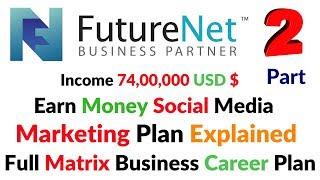 FutureNet.club Futurenet Matrix Full Business Career Plan Explained Social Media Income Hindi/Urdu