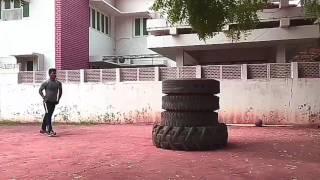 Ravi's Crossfit - Explosive Jump