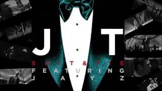 Justin TImberlake feat. Jay-Z - Suit & Tie (Jump Smokers Clean Radio Edit) (Audio) (1080i HD)