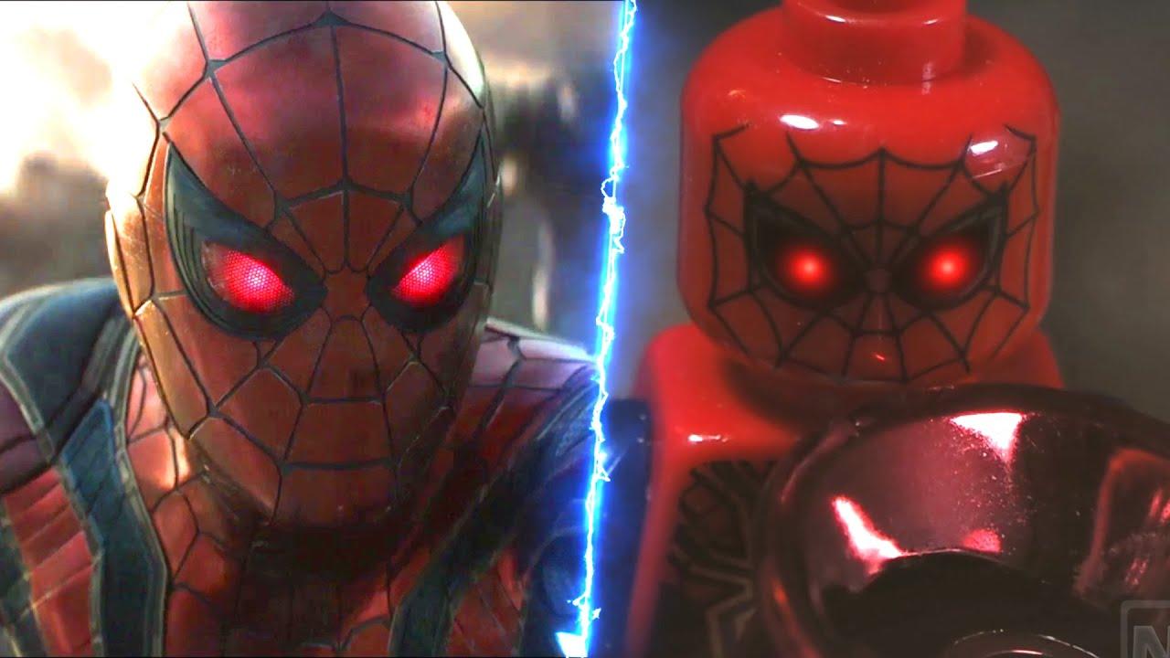 LEGO Avengers Endgame Final Battle Spiderman Activate ...