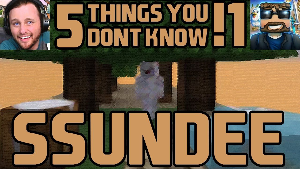 Download SSundee - 5 Things You Don't Know