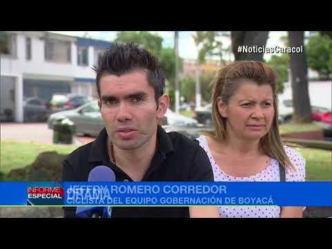El Drama De Jeffry Romero, Ciclista Que Se Accidentó Y Ahora Lucha Contra El Abandono De Su Equipo