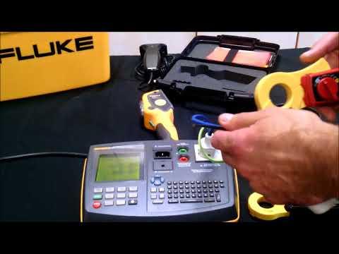 Die Messung des Differenzstromes / Ableitstromes am CEE Geräten nach VDE 0701 / VDE 0702