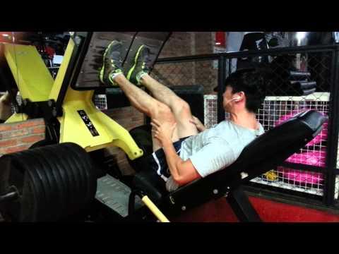 400kg leg press