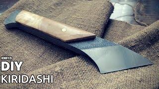 DIY kiridashi from a file