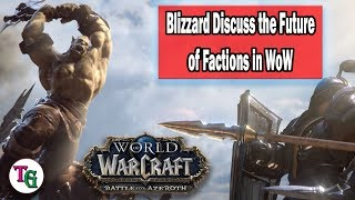 Blizzard Hint at Faction Changes in an Interview