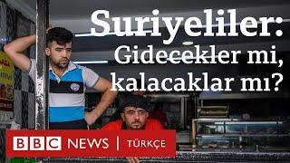 İstanbul'daki Suriyeliler: Gidecekler mi, kalacaklar mı?