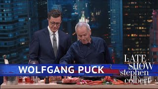 Wolfgang Puck Cooks A Valentine's Day Dinner