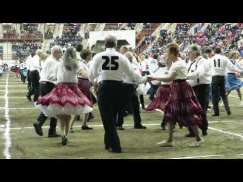 2017 Pennsylvania Farm Show - Square Dance 2nd Competition Dance - Flirts & Skirts