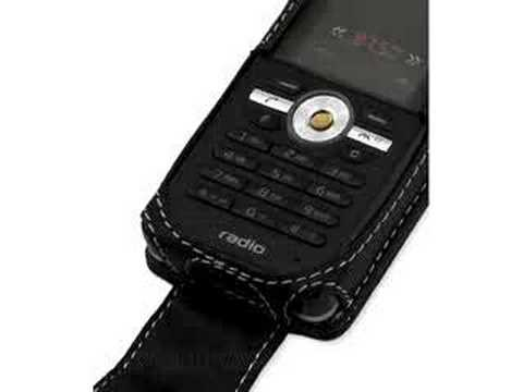 Carrymobile Leather Case for Sony Ericsson R300/R300i/R300a