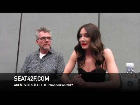 Agents Of SHIELD WonderCon 2017  Jeffrey Bell, Mallory Jansen