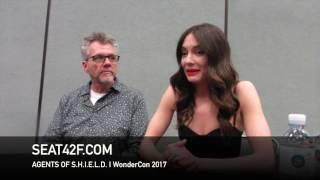 Agents Of SHIELD WonderCon 2017 Interview Jeffrey Bell, Mallory Jansen