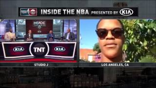 Inside the NBA: E.J.'s Neat-O Stat of the Night Shaq Son Shareef Joins The Crew