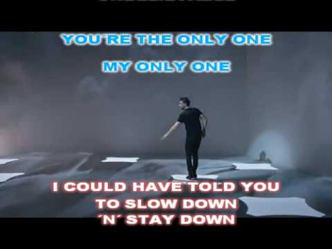Sergey Lazarev - You are the only one Karaoke