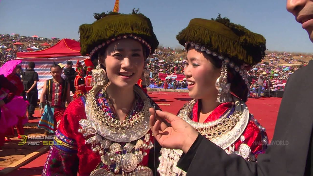 HMONGWORLD: KABYEEJ VAJ talks to Performers from the 2014 Hmong Int'l Hauvtoj in Honghe, CHina