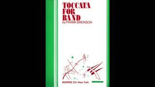 Toccata for Band - Frank Erickson