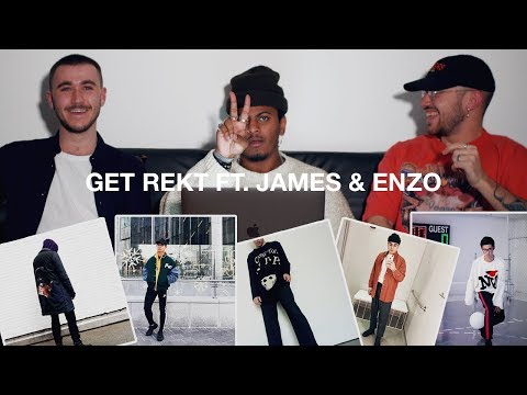 Get Rekt #7 Fall/Winter Outfits ft. James & Enzo (Rating Your Outfits)