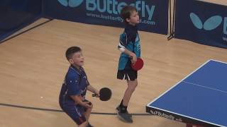 Big fight!!! The battle of Portuguese kids in table tennis!