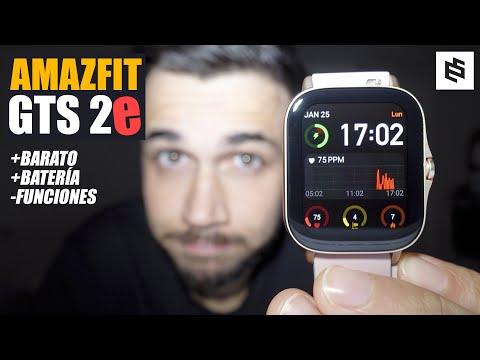 Amazfit GTS 2e⌚UNBOXING y primer ANÁLISIS a FONDO | Español