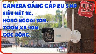 ✥✥ Camera Wifi Ngoài Trời Tốt Nhất Zoom xa, Siêu Nét, Góc Siêu Rộng ✥✥