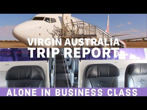 Virgin Australia Boeing 737 Business Class Trip Report - Perth To Kalgoorlie + Bonus RFDS Tour!
