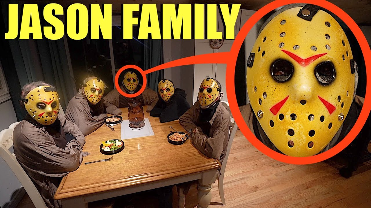 When you see the Jason Voorhees Family, Get out of the house and RUN AWAY Fast!!