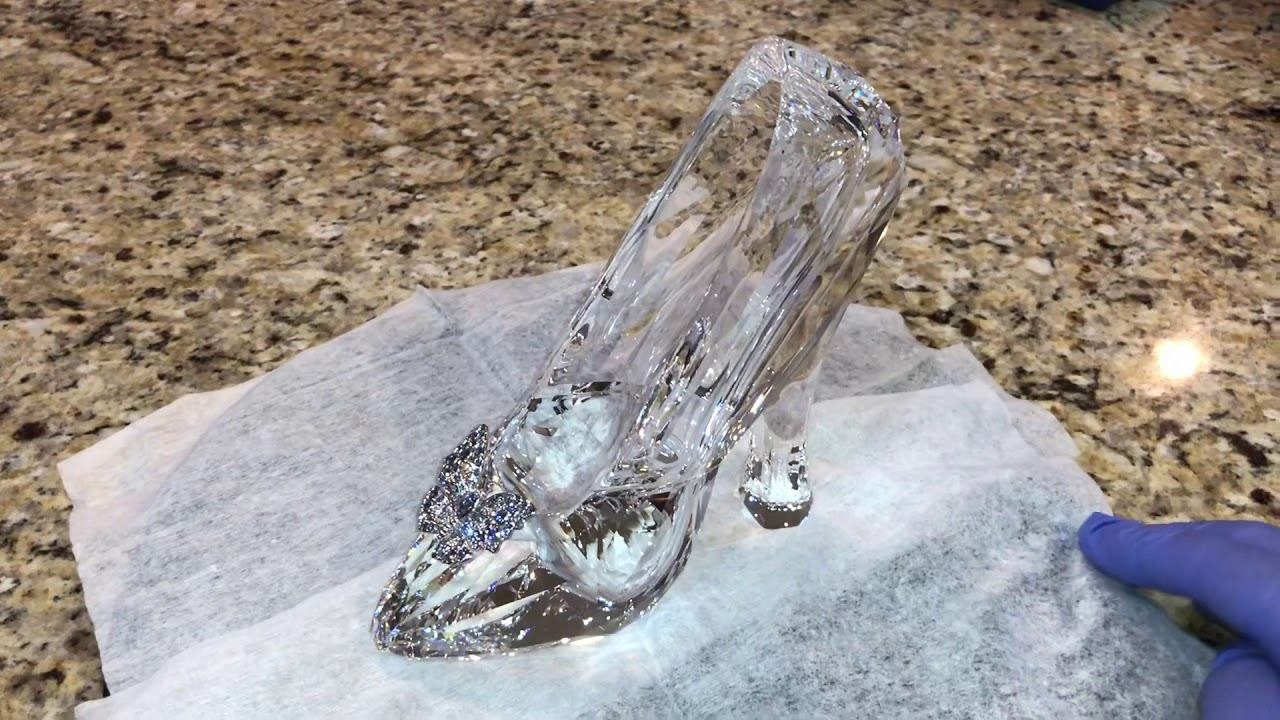 Download Cinderella Swarovski Glass Slipper Crystal Disney Limited Edition Collectible