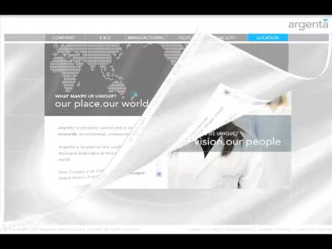 Argenta Animal Health - Contract Pharmaceutical -  Website Launch