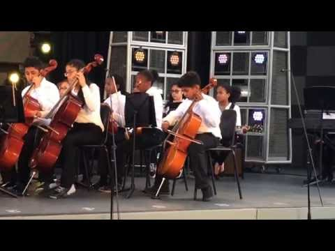 KIPP Bayview Academy Musical Group On-Stage at Disney Performing Arts