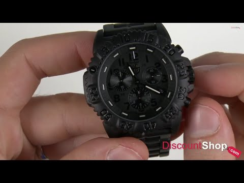 e2fcde2a5a05 Luminox Colormark Chronograph 3082.BO - review by DiscountShop.com - YouTube