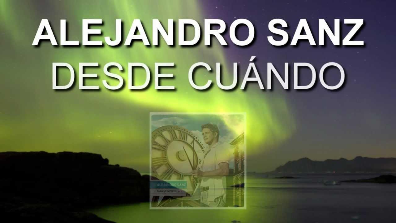 Alejandro Sanz - Mi Persona Favorita - Directlyrics