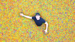 I Put 100,000,000 Orbeez Inside My House