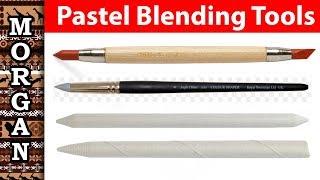 Pastel Blending Tools, Jason Morgan wildlife art