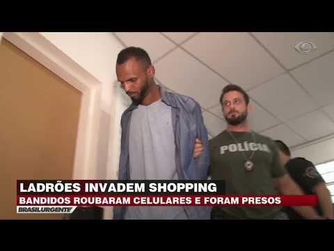 Grande SP: Bandidos Invadem Shopping E Roubam Celulares