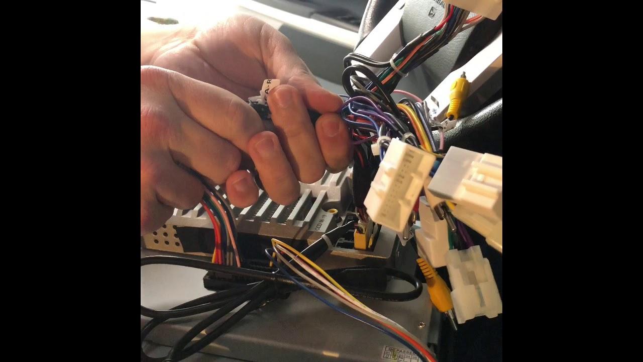 4, Phoenix Tesla style radio, 2016 Platinum Tundra - Clips/Wiring