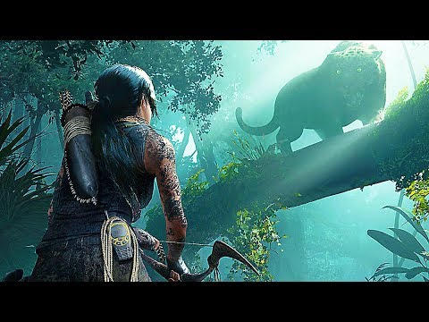 Shadow Of The Tomb Raider - Jaguar Boss Fight Gameplay Walkthrough Demo (2018)