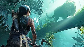 Shadow Of The Tomb Raider - Jaguar Boss Fight Gameplay Walkthrough Demo (2018)