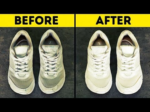 25 HACKS TO KEEP YOUR SHOES LOOKING LIKE NEW