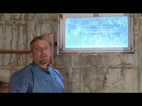 energy efficiency upgrade how to seal up a basement window youtube
