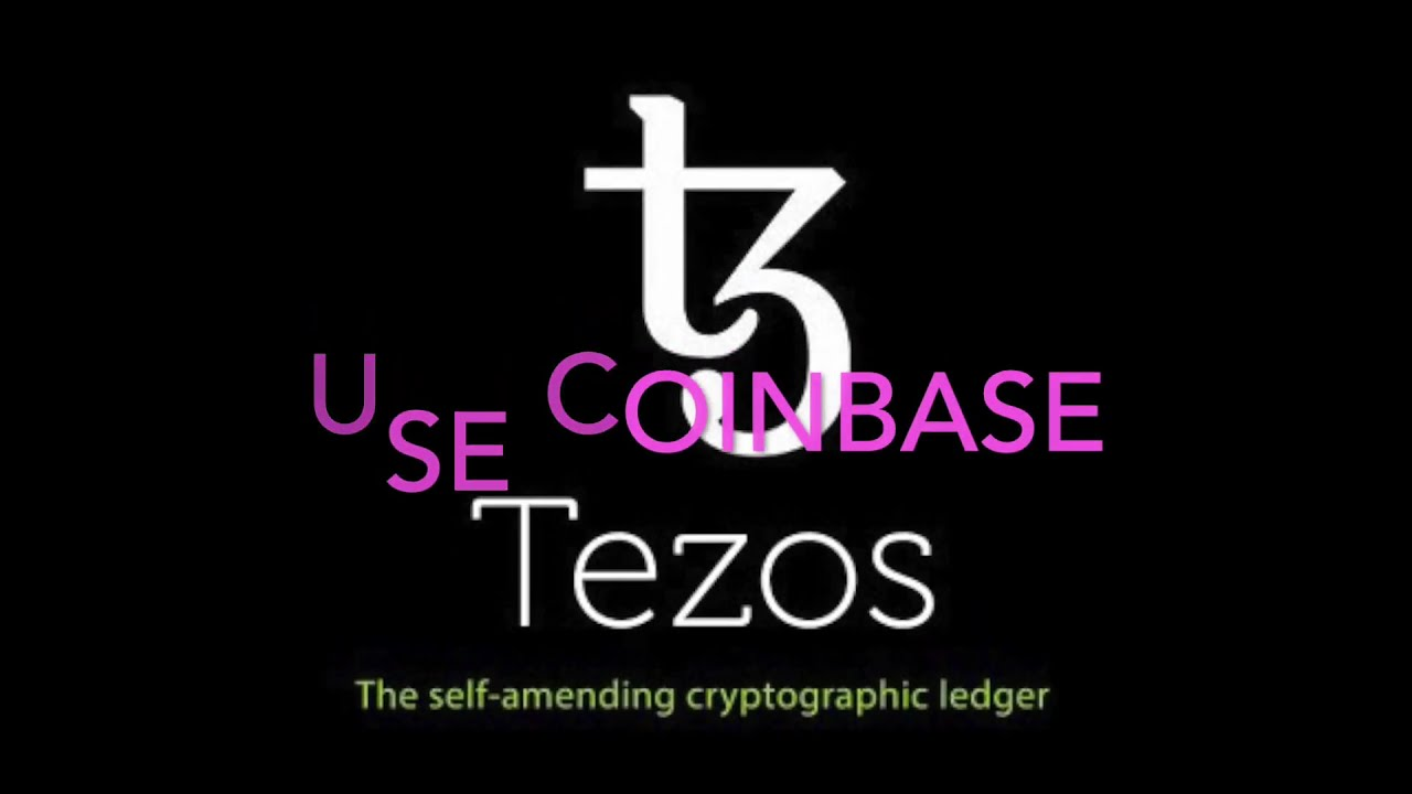 Free Tezos Cryptocurrency with Coinbase