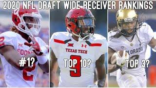 2020 NFL Mock Draft 1.0: WR Rankings