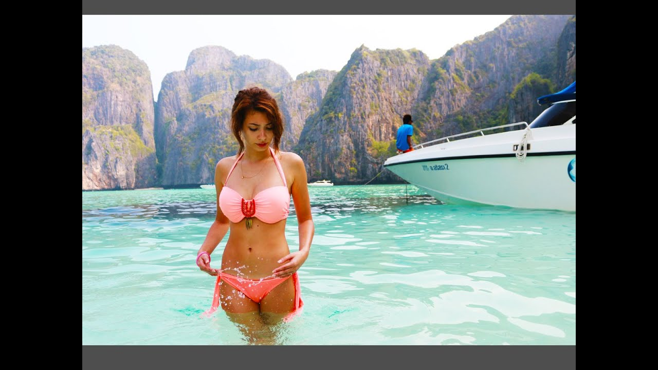 Eva Bikini Fotos Bauch