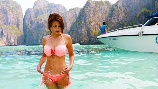 phi phi strand aus the beach paola maria