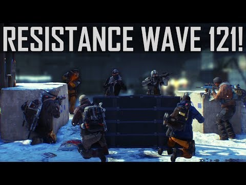 The Division 1.8 - Resistance Wave 1-121 in the Powerhouse w/ Marcostyle ( ͡° ͜ʖ ͡°)