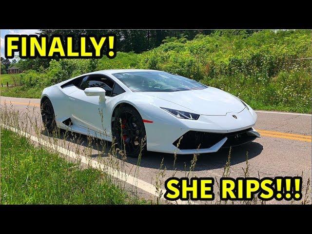 Rebuilding A Wrecked Lamborghini Huracan Part 24