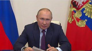 Владимир Путин провел видеовстречи с представителями кабмина и лидерами списка \