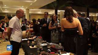 Costa Rica celebra la fiesta francesa Beaujolais Nouveau 2017