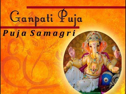 Ganesha puja samagri